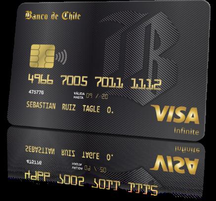 Tarjeta Visa Infinite